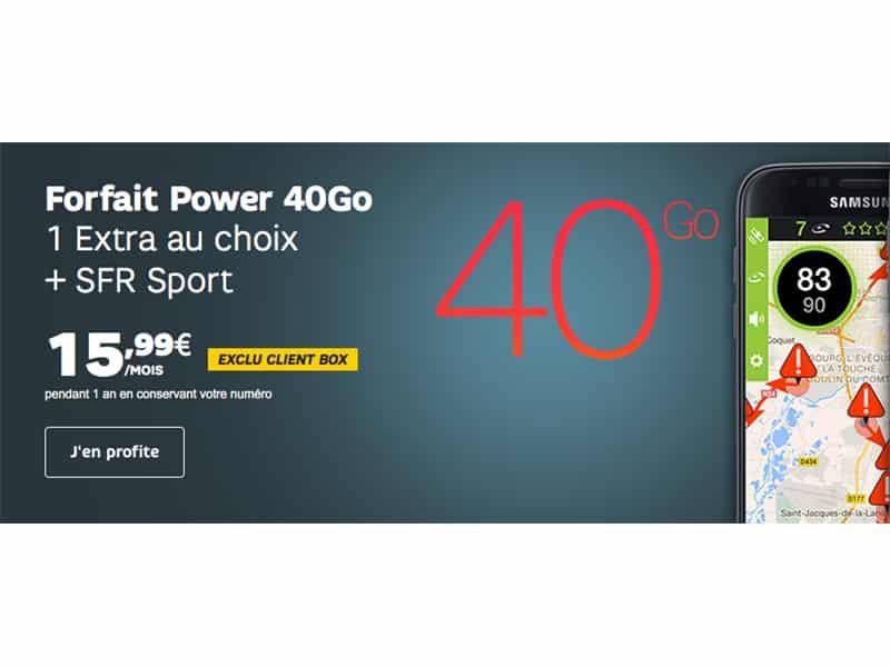 Forfaits mobiles SFR : le tout illimité à prix réduit