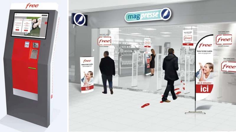 carte free borne interactive Bornes interactives Free Mobile : carte complète et explication du