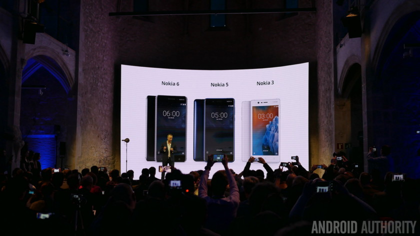 Présentation des Nokia 3, 5 et 6