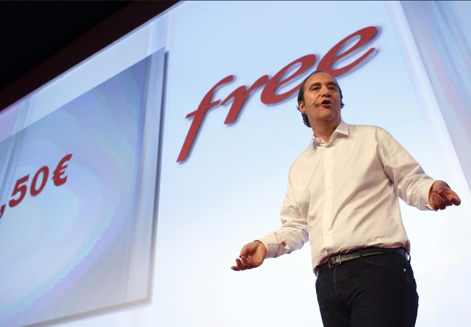 Xavier Niel et Free