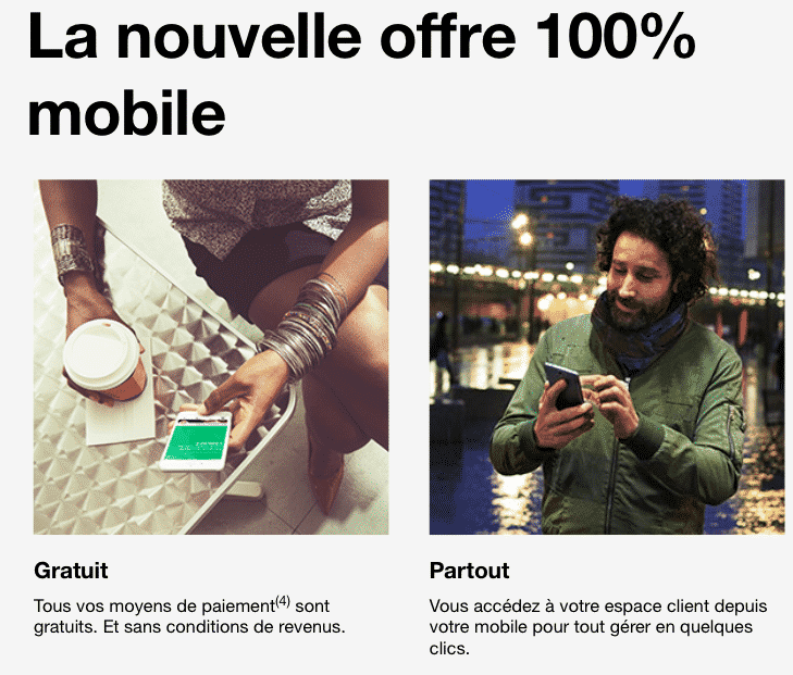 Une banque mobile innovante