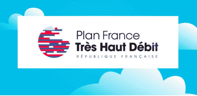Logo du gouvernement pour le Plan France Très Haut Débit