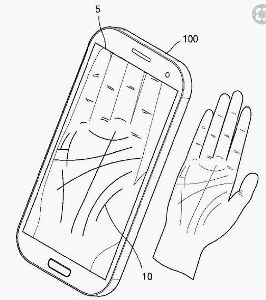 Samsung dépose un nouveau brevet concernant la reconnaissance, cette fois non plus digitale mais des lignes de la main.