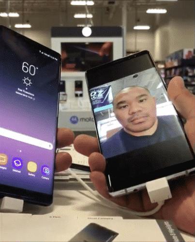 Samsung n'avait pas réussi à développer un système de reconnaissance faciale optimale.