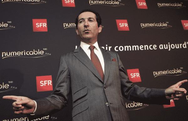 Patrick Drahi actionnaire majoritaire Altice USA maison mère SFR