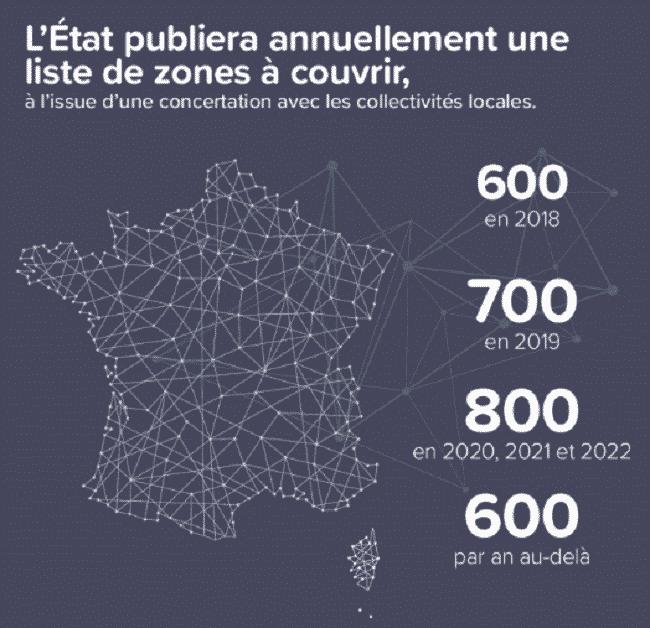 Carte France réseau 4G
