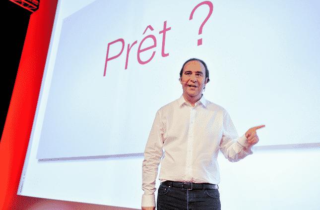 Xavier Niel PDG de Free Mobile