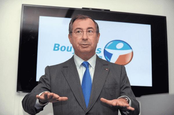 Le président du Groupe Bouygues depuis 1989, Martin Bouygues