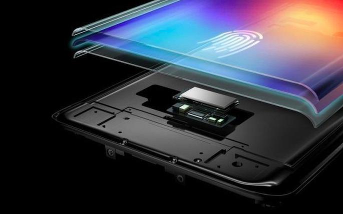 Le lecteur d'empreintes supersonique de Samsung est situé sur l'écran des Galaxy S10