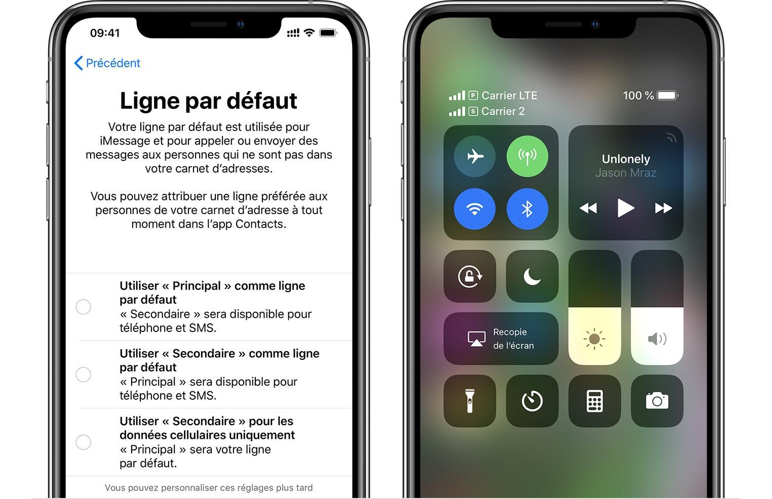 eSIM sur les derniers iPhone