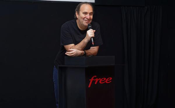 Xavier Niel à la convention Free 2019