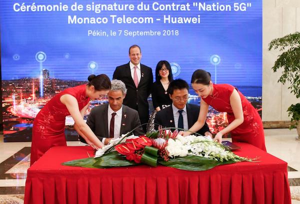 Le partenariat entre Huawei et Monaco Telecom pour le déploiement de la 5G