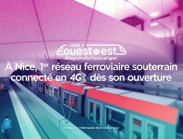 À Nice, le nouveau tramway sera couvert en 4G