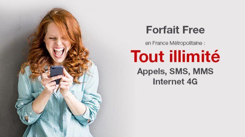 Free propose des vrais forfaits illimités en 4G