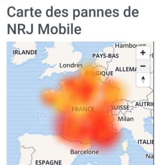 La France touchée par une panne téléphonique chez l'opérateur du Crédit Mutuel Euro-Information Telecom