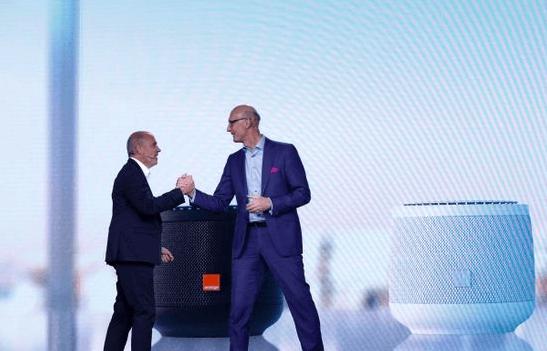 Les deux PDG d'Orange et Deutsche Telekom.