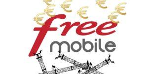 Free mobile revend des infrastructures 4G pour mieux réinvestir.