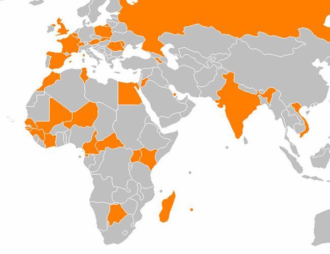 Pour gagner en diversité, Orange tente des incursions dans bien des pays.